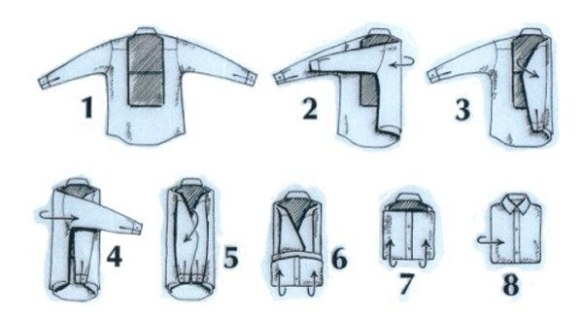 how-to-park-shirts